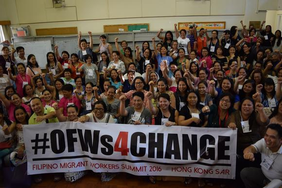Open letter of MIGRANTE to President-elect Rodrigo Duterte: The change OFWs want to see
