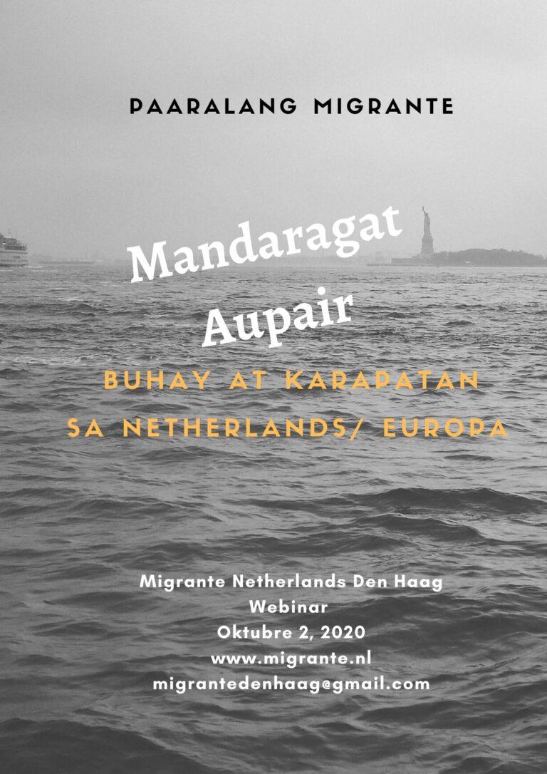 Paaralang Migrante: Buhay Seafarer at Aupair sa Netherlands