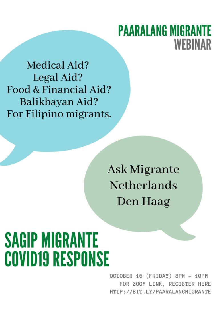 Paaralang Migrante: Sagip Migrante Covid19 Response