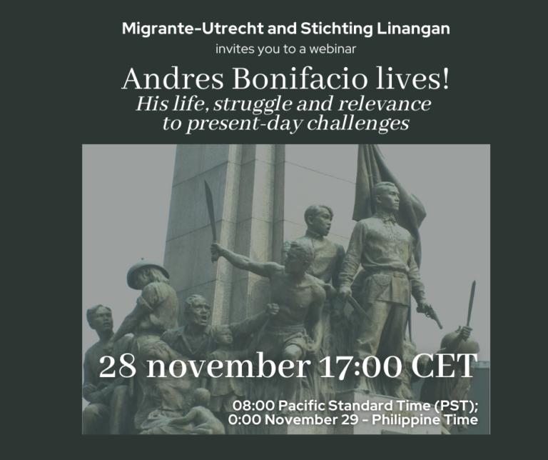 Andres Bonifacio lives!