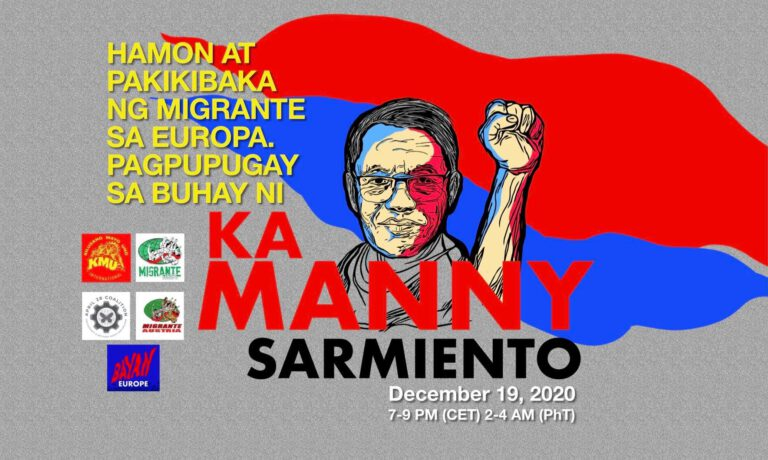 "Tribute to Migrant's Organizer Manuel ""Ka Manny"" Sarmiento"