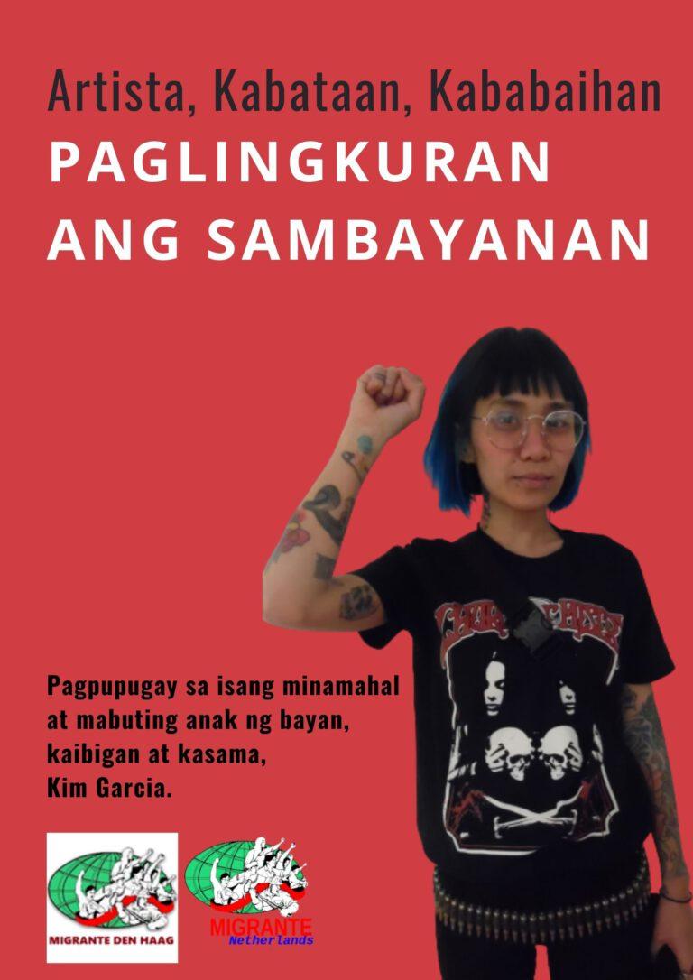Pagpupugay para kay Kim Garcia, artista at anak ng bayan!